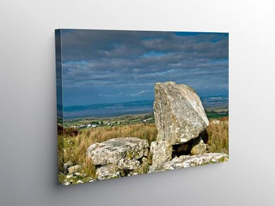 Arthur's Stone Cefn Bryn Ridge Gower Peninsula, Canvas Print
