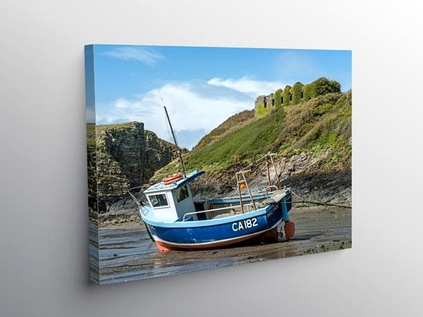 Abercastle Beach Pembrokeshire Coast on Canvas