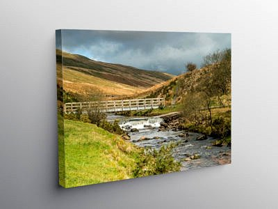Blaen Llia in Fforest Fawr in the Western Brecon Beacons, Canvas Print