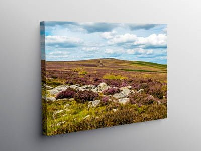 The Blorenge above Abergavenny Black Mountains on Canvas