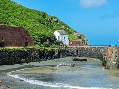 Porthgain Harbour North Pembrokeshire West Wales