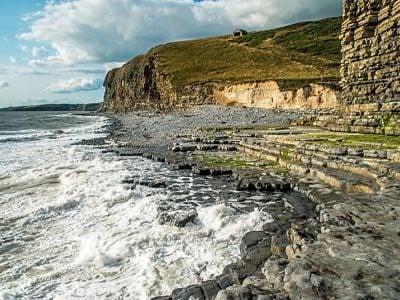 Glamorgan Heritage Coastline at Cwm Nash South Wales