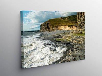 Glamorgan Heritage Coastline at Cwm Nash South Wales on Canvas