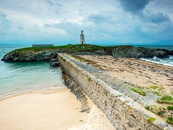 Little Lighthouse Llanddwyn Island Anglesey
