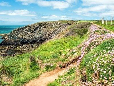 Pembrokeshire Coast Path near St Justinians