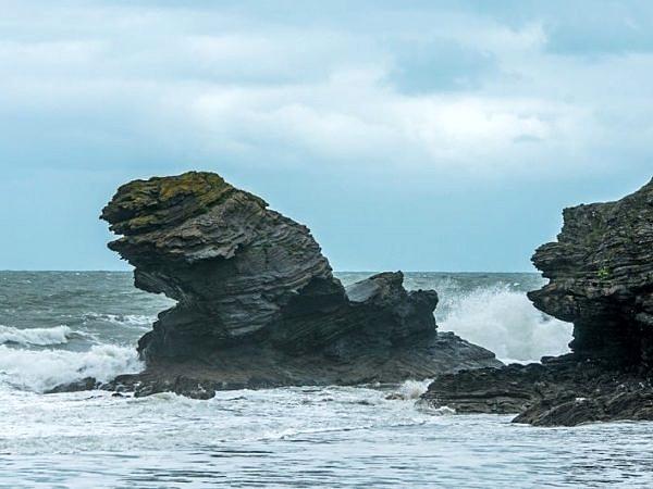 Carreg Bica Rock Llangrannog Ceredigion