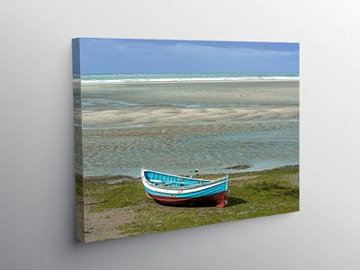 Newport Beach Pembrokeshire Coast on Canvas