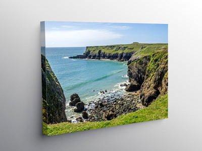 Pembrokeshire Coast St Govan's Head on Canvas