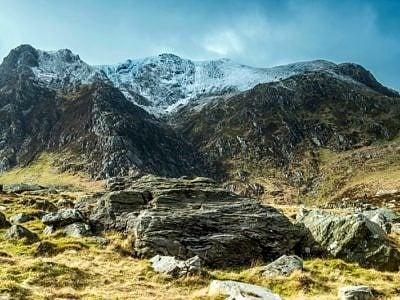 Y Garn from near Llyn Idwal, Snowdonia, North Wales