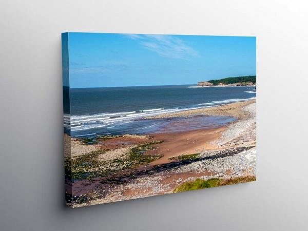 Colhugh Beach Llantwit Major Glamorgan Coast, Canvas Print