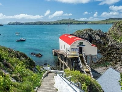 St Justinian's and Old Lifeboat Station Pembrokeshire Coast