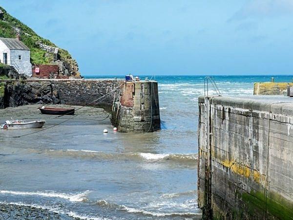 Porthgain Harbour Pembrokeshire West Wales