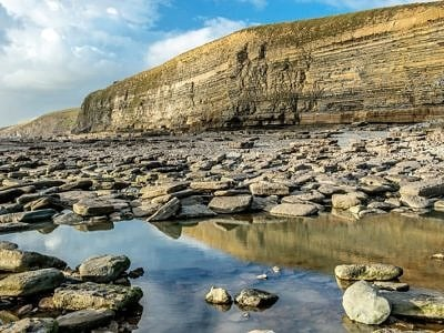 Dunraven Bay on the Glamorgan Heritage Coast
