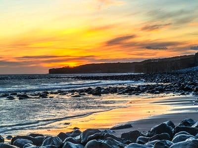 Sunset at Llantwit Major