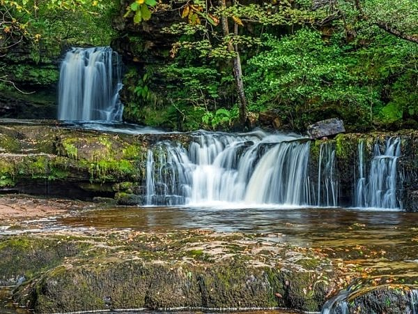 Lower Ddwli Waterfall Vale of Neath