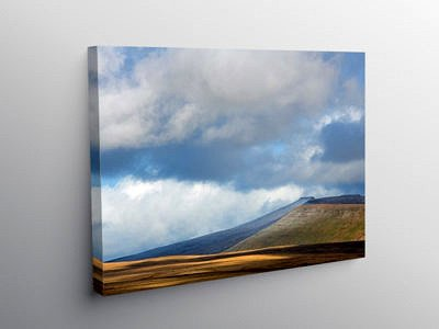 Central Brecon Beacons South Wales on Canvas