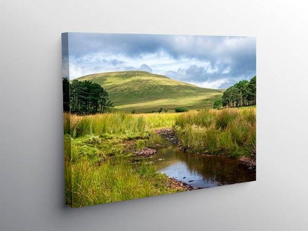 Cribyn in the Brecon Beacons Wales on Canvas