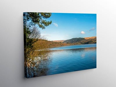 Pontsticill Reservoir Brecon Beacons South Wales on Canvas