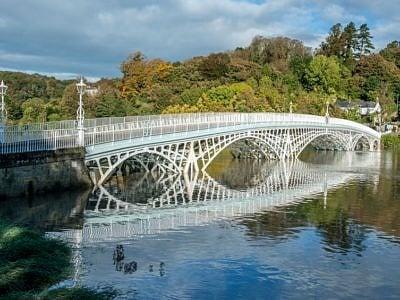 Old Iron Bridge Chepstow