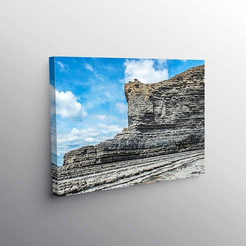The Cliffs of the Glamorgan Coast at Cwm Nash south Wales on Canvas