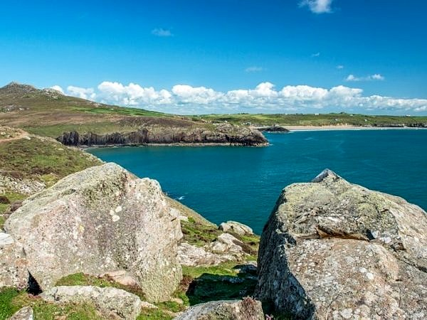 Whitesands Bay from St David's Head Pembrokeshire