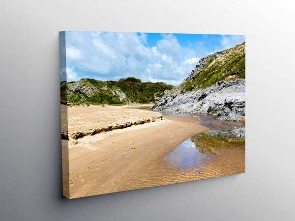 Broad Haven South Beach Pembrokeshire on Canvas