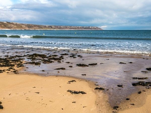 Port Eynon Beach on the Gower Peninslua South Wale