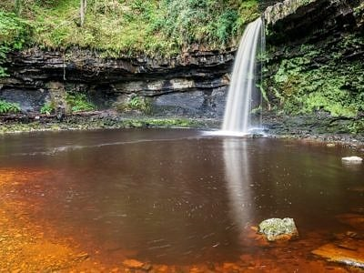 Scwd Gwladys Waterfall Vale of Neath