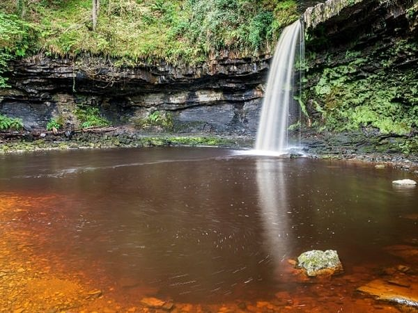 Scwd Gwladys Waterfall Vale of Neath
