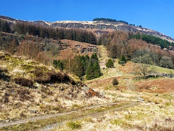 The Hills above Blaen Rhondda