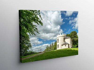 The Kymin Monmouth South Wales, Canvas Print