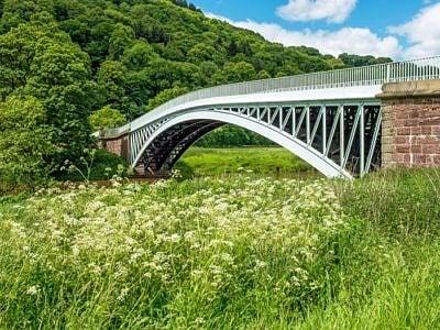 Bigsweir Bridge River Wye Monmouthshire