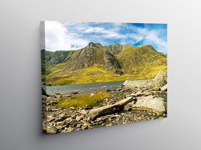 Llyn Idwal Snowdonia National Park, Canvas Print