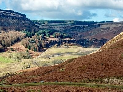 Rhondda Fawr Valley South Wales