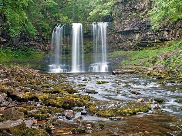 Sgwd yr Eira Waterfall Vale of Neath