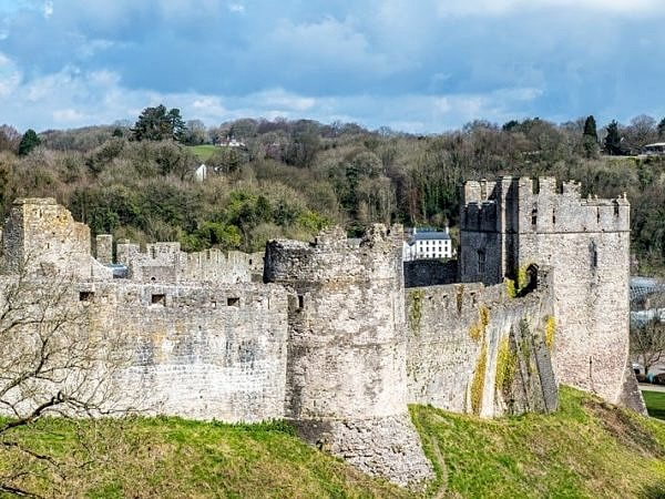 Chepstow Castle Monmouthshire
