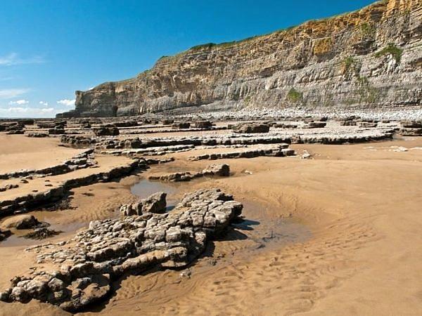 Nash Beach Glamorgan Heritage Coast
