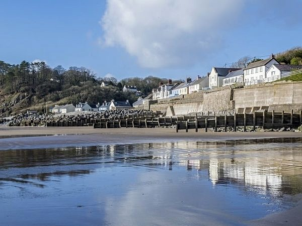 Amroth Village on the South Pembrokeshire Coast
