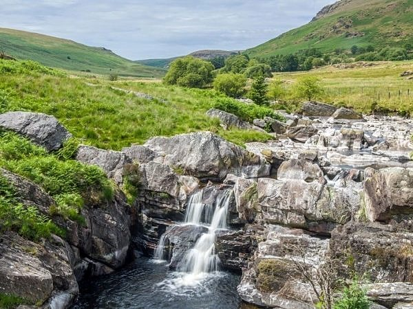 Waterfall on the River Claerwen