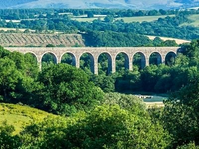 Cynghordy Viaduct on the Heart of Wales Railway Line