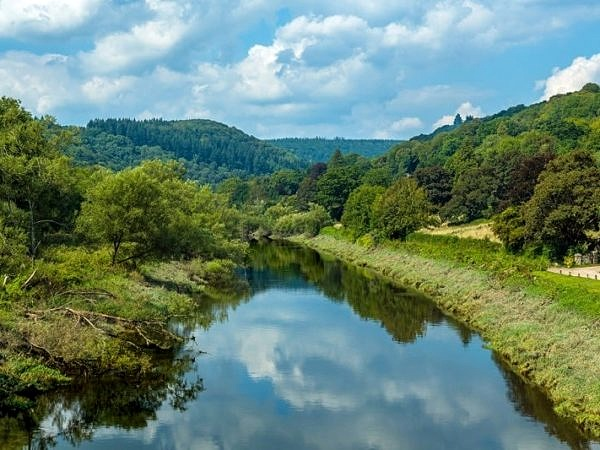 The River Wye from Brockweir Bridge