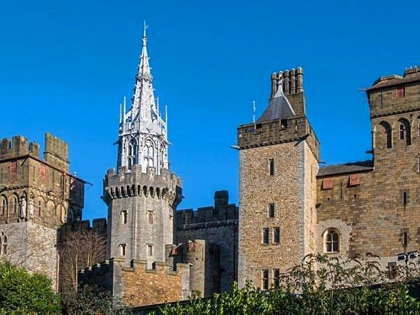 Cardiff Castle Eastern Side