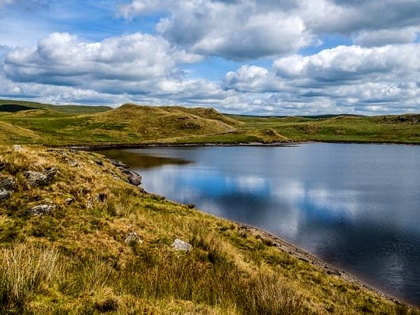 Llyn Egnant In the Cambrian Mountains