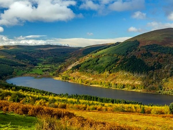 The Talybont Reservoir Central Brecon Beacons
