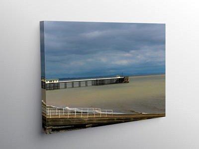 Penarth Pier Vale of Glamorgan, Canvas Print