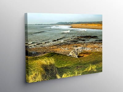 River Ogmore Estuary Glamorgan Heritage Coast, Canvas Print
