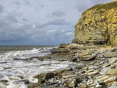 Cliffs at Dunraven Bay Southerndown