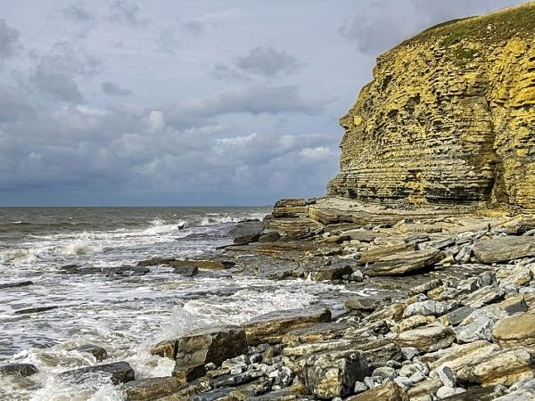 Cliffs at Dunraven Bay Southerndown