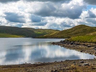 Llyn Egnant Lake Teifi Pools Ceredigion