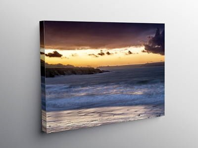 West Angle Bay Pembrokeshire, Canvas Print